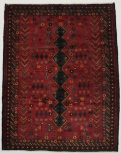 Beautiful One Of A Find Handmade Vintage Persian Rug Oriental Area Carpet 7x9
