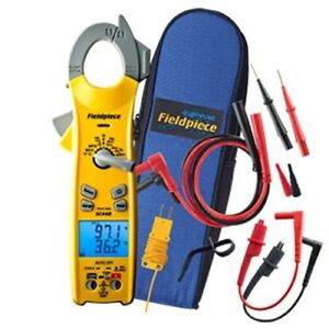 Fieldpiece Sc440 True Rms Clamp Meter With Temperature Inrush Current
