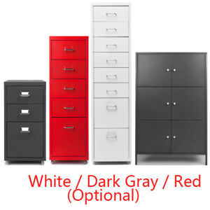 3 5 8 Drawer Metal Filing Cabinet Office Storage Organizer Floor Cabinet S6y1