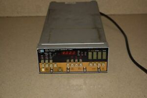Hewlett Packard 8116a Pulse Function Generator 50 Mhz pw4