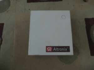 Used Altronix Altv244300 Cctv Camera Acc Pwr Supply 115vac In 24 28vac Out