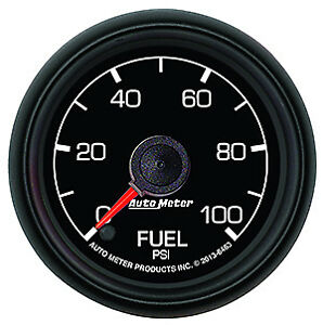 Auto Meter Products 8463 Factory Match Gauge Fuel Pressure