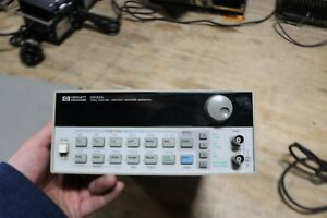 Agilent Hp 33120a Function arbitrary Waveform Generator