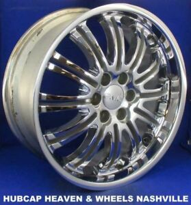 09 14 Sierra Denali Accessory Wheel 22x9 Chrome 24 Spoke 19212346 True Oem 5413