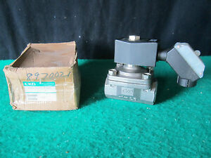 Ckd Corp Ad11 25a l3hp6 Stainless Steel Solenoid Valve free Shipping