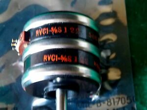 Vintage Potentiometer Rvc1 5 8 S122 50k 2 5w h 554 new Free Shipping