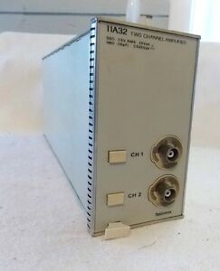 Tektronix 11a32 Two Channel Amplifier Plug In Free Shipping
