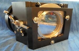 Optical Laser Reflecting Inclosed Fixture With 4 And 2 1 2 Mirrors And Mounts