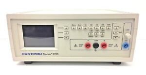 Huntron Tracker 2700 Component Tester Circuit Analyzer Used