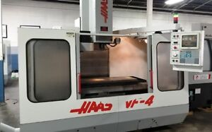 Haas Vf 4 Vertical Machining Center