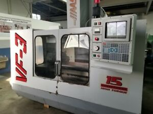 Haas Vf 3 Vertical Machining Center
