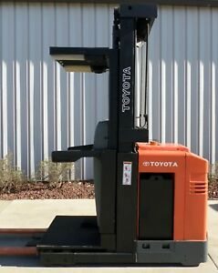 Toyota Model 6bpu15 2004 3000 Lbs Capacity Order Picker Electric Forklift