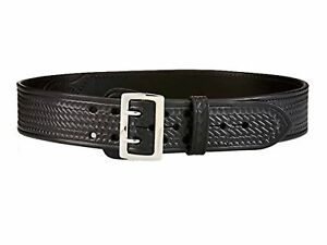 Aker Leather B01 2 1 4 Sam Browne Belt Leather lined 40 basketweave Style