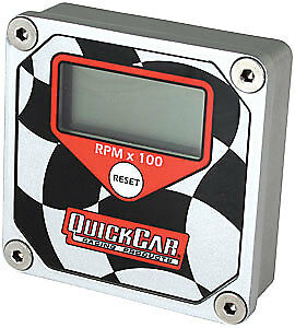 Quickcar Racing Products 611 099 Quickcar Quicktach Lcd Recall Tachometers