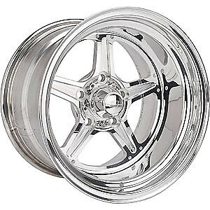 Billet Specialties Rs035106545n Street Lite Polished 15 X 10 Inch Wheel
