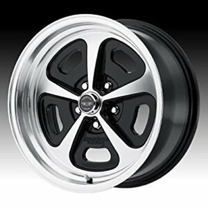 American Racing Wheels Vn50158012500 15 X 8 500 Magnum Wheel 5 X 4 5 Bolt Circle