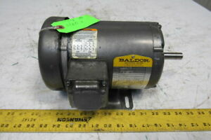 Baldor M3531 34a01 5882 1 4hp 1140rpm 230 460v 60hz 3ph 56 Electric Ac Motor