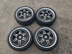Kosei Racing Wheel Set 17x7 5 5x114 3 5x110 Toyota Mr2 Mitsubishi
