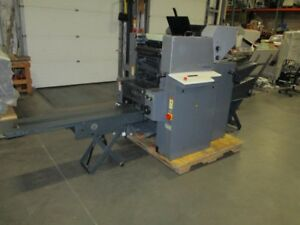 1999 Heidelberg Printmaster 46 2 With Numbering Envelope Feeder