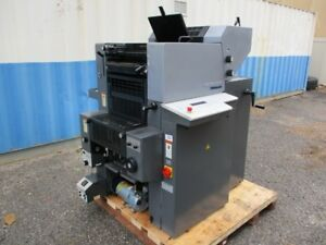 2006 Heidelberg Printmaster 46 2 Auto Plate Plate Punch