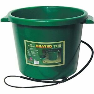 Farm Innovators Ht 200 16 Gallon 200w Heated Horse Livestock Water Tub