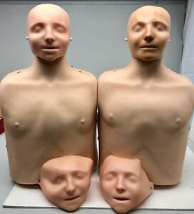 X2 Laerdal Little Anne Torso Cpr Adult Manikin First Aid Training Nursing emt