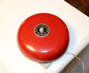 Notifier Uf 8 Fire Station Alarm Bell 6 12 Volts Dc Lincoln Nebraska Working