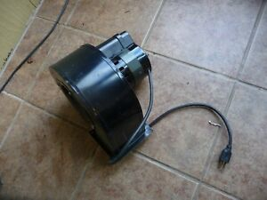 Blower Fasco 1 4 Hp Motor Squirrel Cage Wood Pellet Stove