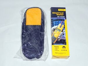Fluke T5 1000 Voltage Continuity And Current Tester With Case Free Shipping