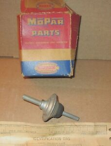 Nos Mopar 1553093 Carb Dashpot 1953 1958 Various Dodge Plymouth Vehicles