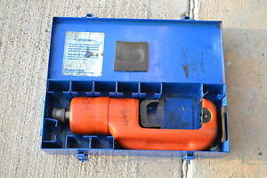 T b Thomas Betts Tbm15 Hydraulic 15 Ton Crimper Head Crimping Tool Missing Die