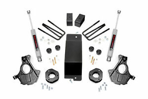 Rough Country 3 5 Lift Kit For 14 18 Chevy gmc 1500 W cast Steel Arms 12430