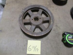 Used 2 Groove V belt Pulley 8 3 4 Sheave Browning 2bk90h Industrial