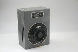 General Radio Company Type W20hm Variac Variable Autotransformer 0 280v 8amps 2