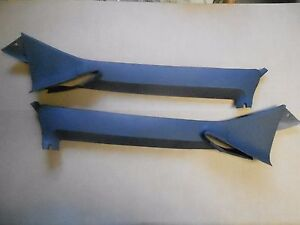 Mopar 68 69 70 Charger Roadrunner Coronet Gtx Pillar Post Molding Cover Trim New