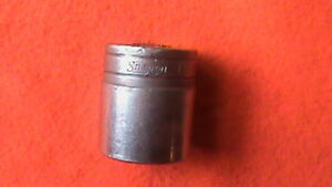Snap on Usa Vintage 1 Socket Double Square 8 Point 1 2 Drive Sw432
