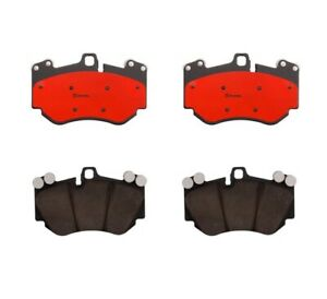 For Porsche Cayenne Audi R8 Rs5 Front Brake Pad Set Low metal With Lube Brembo