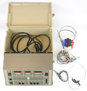 Maico Ma40 Audiometer With Bone And Headphone Tested Working