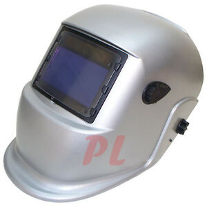 Solar Auto Darkening Welding Welder Helmet Solid Light Grey