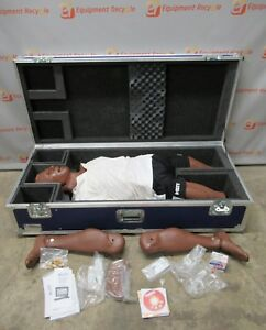 Meti Full Adult Medical Cpr Trauma Training Manikin Patient Simulator Hal Mobile
