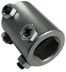 Borgeson 315249 3 4 quot Dd X 1 quot Dd Steel Steering Coupler