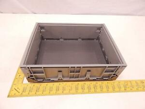 Pallet Of 280 Jtekt Industrial Plastic Collapsible Bin Containers 14x11x4