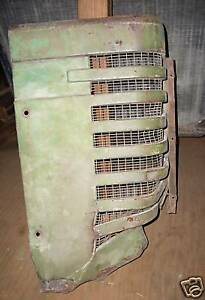 John Deere Model G Tractor Grill Right Hand Side