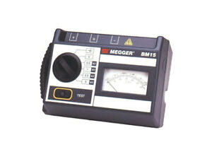 Megger Bm15 5 Kv Analog Insulation Tester
