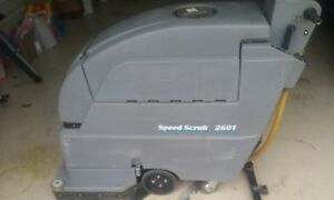 Two nobles 2601 Floor Speed Scrubber 13
