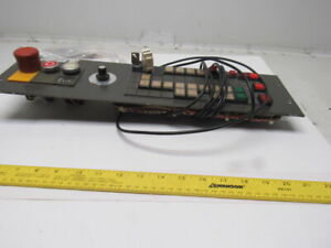 Weeke Bp 12 w Optimat Cnc Router Control Panel Button Console With Extra Parts