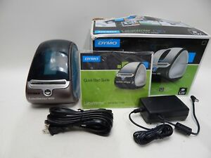 Dymo Labelwriter 450 Professional Label Printer With Dymo Adapter Works