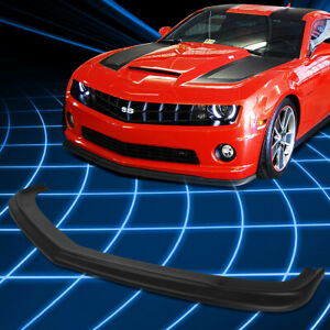 For 10 13 Chevy Camaro 1ss 2ss Ss Front Bumper Lip Spoiler Splitter Body Kit