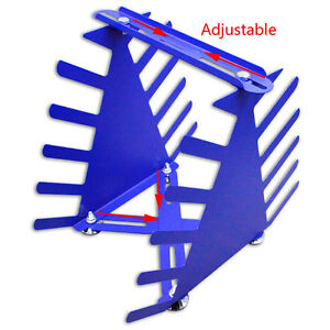 Screen Printing Squeegee Rack Silk Screen Squeegee Scraper Spatula Steel Holder