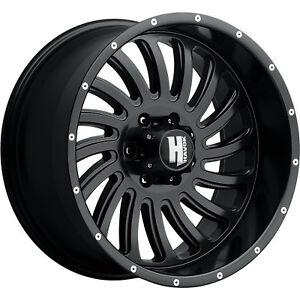 20x10 Black Havok H111 6x5 5 24 Wheels Toyo Open Country Mt 35x12 5x20 Tires